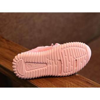 Dotolly รองเท้าผ้าใบเด็ก (สีชมพู 26) - 3