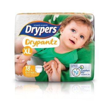Drypers ผ้าอ้อมสำหรับเด็ก รุ่น Drypantz XL 18 ชิ้น