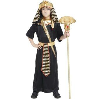 Harga EOZY Boys Halloween Costumes Ancient Egypt Egyptian Pharaoh CosplayKids Photography Stage Performance Clothing -M