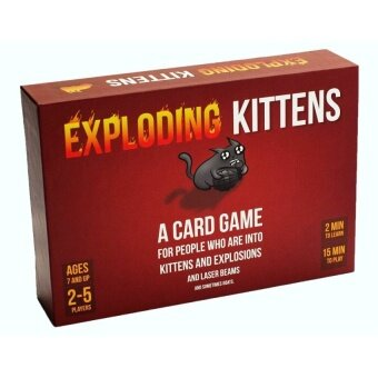 Exploding Kittens: A Card Game About Kittens and Explosions andSometimes Goats - intl