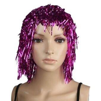 Fancy Ball Wig Party Wigs Cosplay Halloween Fancy Dress(Purple) - intl