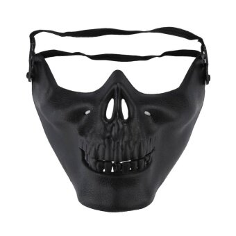 Fashion Skull Mask Horror Disgusting Halloween Party Mischief MaskDance Tools - intl