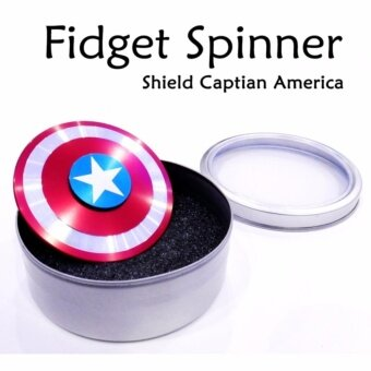 Fidget Spinner Shield Captian America