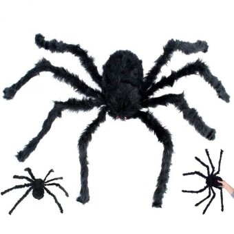 Funny Spider For Halloween Party Festival Decororation Spider Plush Tricky Toy - intl