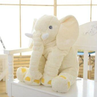 GOOD Stuffed Animal Cushion Kids Baby Sleeping Soft Pillow Toy Cute Elephant - intl