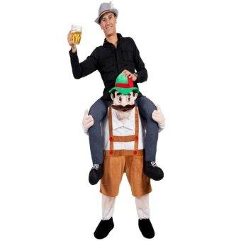 GoSport Bavarian Beer Guy Carry Me Costume Ride On Piggy Back Mascot Oktoberfest Adults - intl