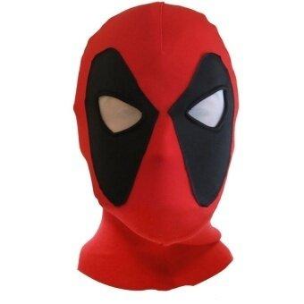 Halloween Cosplay Costume Lycra Spandex Mask One Size Fullhead Balaclava - intl