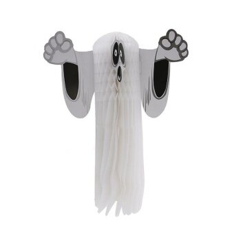 Halloween Ornaments Ghost Party Decorations - intl