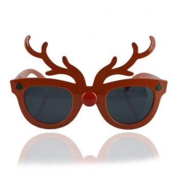 Halloween Trick Glasses Googles Pumpkin Spiderweb Deer ShapeCelebration Joke - intl