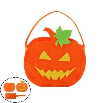 Halloween you must have it DIY Pumpkin Bag Candy Gifts HalloweenStorage Trick Or Treat Celebration - intl