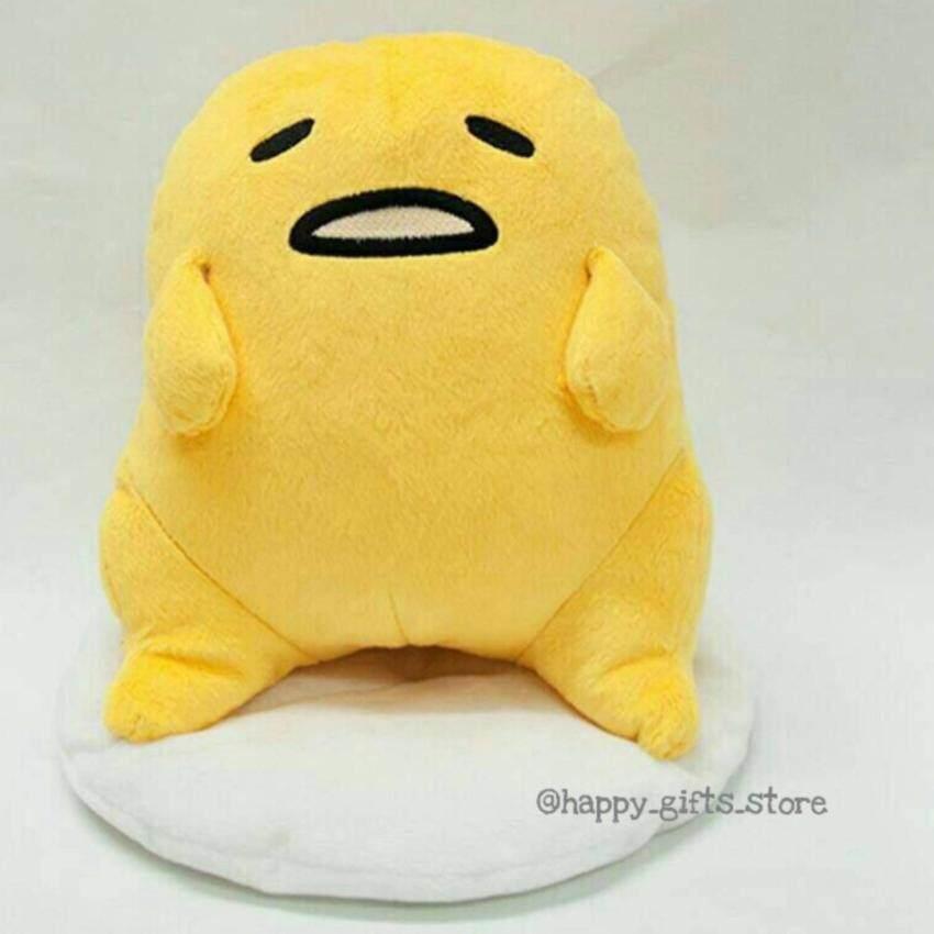 Happy Gifts Store ตุ๊กตา ไข่ขี้เกียจ Gudetama 9 นิ้ว (สีเหลือง) image