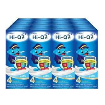 HI-Q 3 PLUS PREBIO PROTEQ PLAIN PACK 12 รสจืด