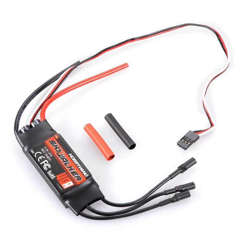 Hobbywing SkyWalker 40A 2-3S Brushless RC ESC Electric Speed Controller with BEC for Helicopter