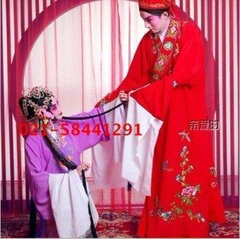 กางเกงปัญญาโอเปร่า Huangmei เช่าเสื้อผ้า