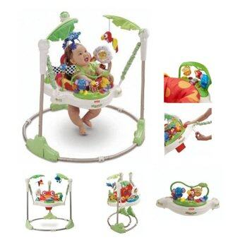 Harga Huile Toy Jumperoo Rainforest Baby Jumper
