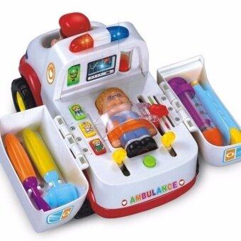 รถพยาบาล Ambulance Car - White