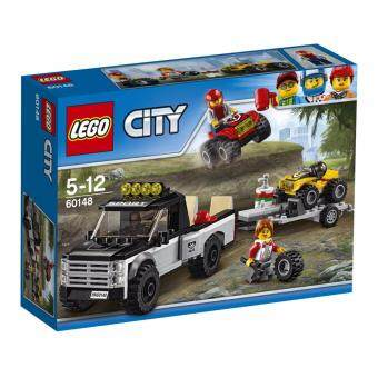 Harga LEGO City Great Vehicle ATV Race Team - 60148 ฟรี! Poly Bag City Vehicle