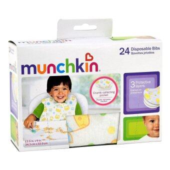 Harga Munckhin Disposable Bibs 24 Pack