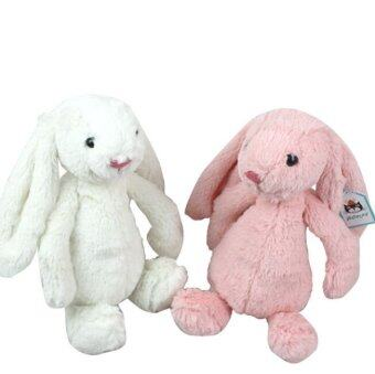 Harga Jelly Bunny Rabbit with Tags and CE 45CM Length Cute Lovely Baby Toys Pink