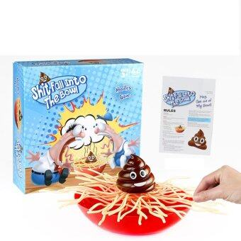 Harga Party Prank Funny Toy Desktop Interactive Game Don't Let Shit Fall Into The Bowl Game Playset - intl
