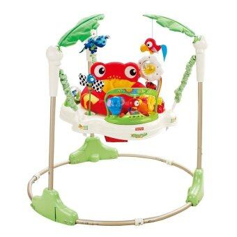 Harga Baby Walker Jumperoo with Music & Light (Green) Rain Forest