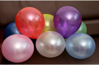 Harga 100pcs Pearl Latex Balloon 10inch Colorful - intl