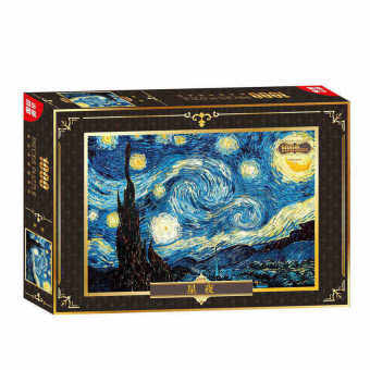 Harga The Starry Night 1000Pc Jigsaw Puzzle - intl