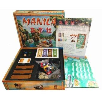 Harga Manila Chess Board Game for 3-5 People Play Poker Table Toys Game for Family and Party - intl