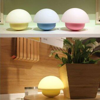 Harga leegoal LED Night Light, BestFire LED Touch Sensor Dimmare Atmospheric Lamp, Mini Mood Lamp, Mushroom Lamp - intl