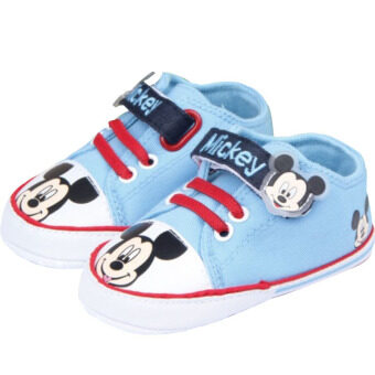 Harga New Baby Shoes Cute Cartoon Kids Canvas Girl's Boy's Shoes Bebe First Walker Plimsolls Soft Shoes