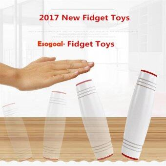 Harga EsoGoal Fidget Spinner Amazing Desk Toy ,Fun Dimensional Sided Toys Rollver Toy Desktop Flip Toys Fidget Stick Relieve Stress,White - intl