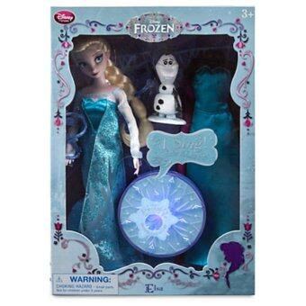 Harga Disney Princess Deluxe Singing Doll Set Elsa 11''
