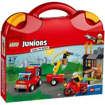 Harga LEGO Juniors 10740 Fire Patrol Suitcase