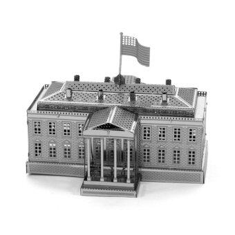 Harga The White House Full Metal 3D DIY Assembled Model - Intl