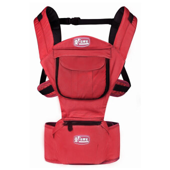 Harga Hot Selling Multi-Fuctional Baby Carriers Shoulders Backpack-Red