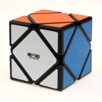 Harga 2015 New QiYi Skewb Puzzle Magic Cube Black and White and Stickerless Learning&Educational Cubo magico Toys