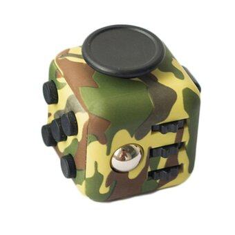 Harga Fidget Cube Camouflage toys relieve stress for adult 2017 New Fidget Cube mini stress cube toys set Fidget toy - intl