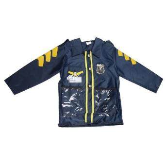 Harga BolehDeals Police Officer Patrol Cop Children Halloween Costume Kids Fancy Dress Boys - intl