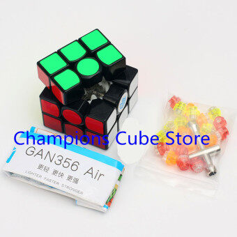 Harga Newest Hot Sale GAN 356 Air 3x3x3 Magic Cube Puzzle 3x3 Speed Cube competition Twisty Puzzle Educational Toys Cubo Magico