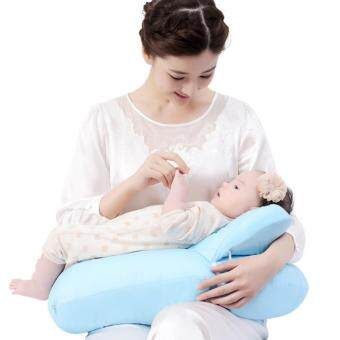 Harga Ajusen Breastfeeding Nursing Pillow Baby Body Pillow Cotton Multi Function Baby Learn Sit Pillow - intl