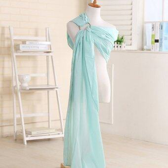 Harga Pure Linen Ring Sling Baby Carrier(Blue) - intl