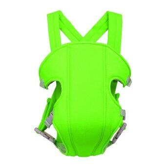 Harga Portable Multifunction Breathable Kangaroo Baby Carrier Comfotable Infant Front Facing Backpack Carrier Sling Wrap Green