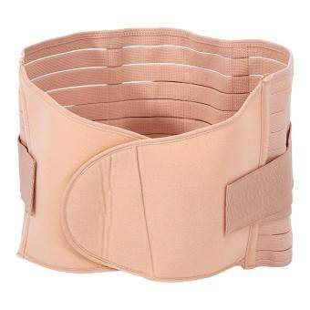 Harga Body Shaping Girdle Abdominal Binder Maternity Shaper Belt(Apricot) - intl