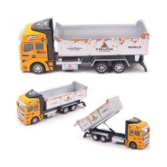 Harga Transport Vehicles Model Car Alloy Metal & Plastic Toy Cars Boys Toys Gift(yellow)