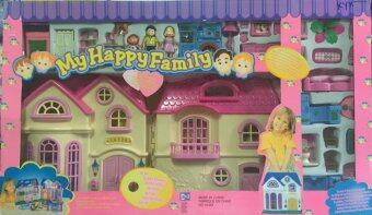 Harga Worktoys บ้านตุ๊กตา My Happy Family Mansion Playset