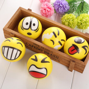 Harga Smiley Ball Smiley Stress Ball Smiley Squeeze Ball ADHD Autism Mood Squeeze