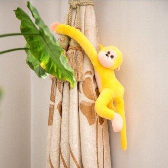 Ishowmall Monkey Stuffed Animal Doll 60cm Hanging Monkey Long Arm Baby Toys Yellow - intl