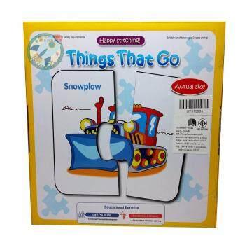 Jigsaw Puzzle ชุดบัตรคำศัพท์จับคู่ตัวต่อภาพ ชุด Things That Go - 2