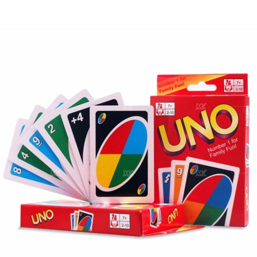 JKP Toys ไพ่ UNO ไพ่สำหรับปาร์ตี้ เล่นได้ 2-20 คน