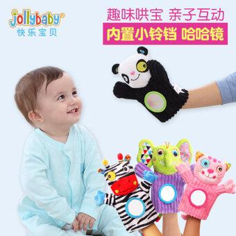 Jollybaby สามมิติตุ๊กตาสัตว์หุ่นมือตุ๊กตา